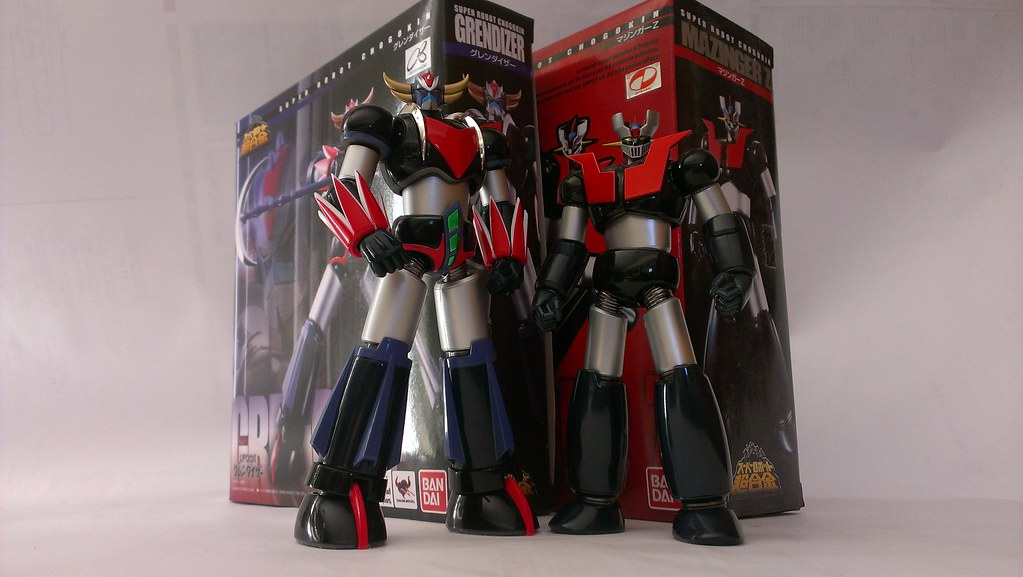 Bandai Super Robot Chogokin Grendizer/Mazinger-Z | One thing