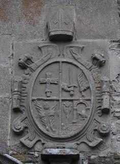 Samos Lugo Monasterio De San Julian Puerta Blasonada Flickr