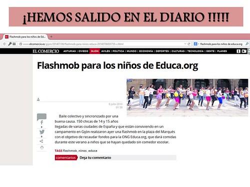 HEMOS SALIDO EN EL DIARIO DE GIJÓN