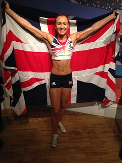Jessica Ennis-Hill CBE figure at Madame Tussauds London