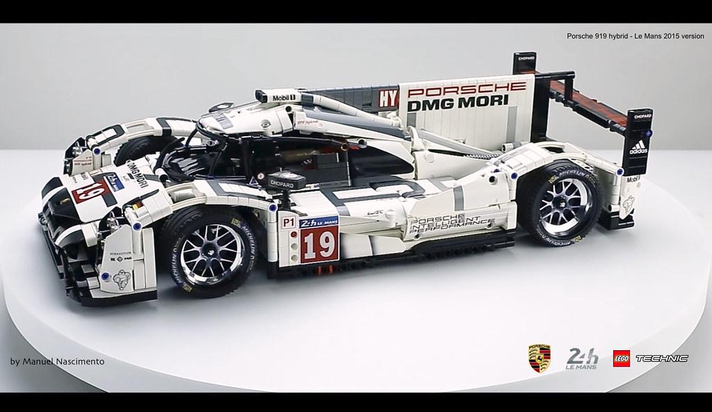 Lego Technic Porsche 919 Le Mans 2015 V Flickr