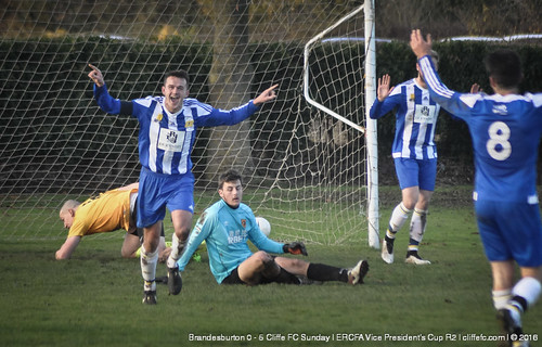Cliffe FC Sunday vs. Brandesburton (County Cup) 27Nov16   by Malcolm Bryce   Cliffe FC   Taken by M. Bryce