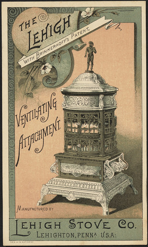 The Lehigh with Brinkerhoff's Patent. (front) | by Boston Public Library