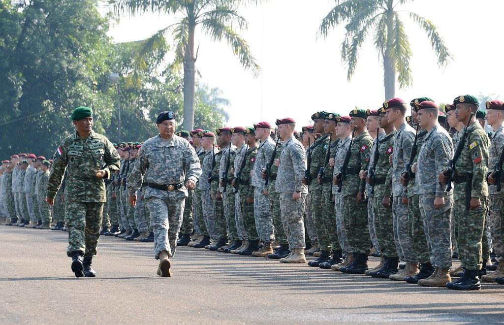 Ambassador Marciel Joins Opening of U.S.-Indonesia Military Exercise