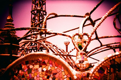 Watts Towers by Velvia