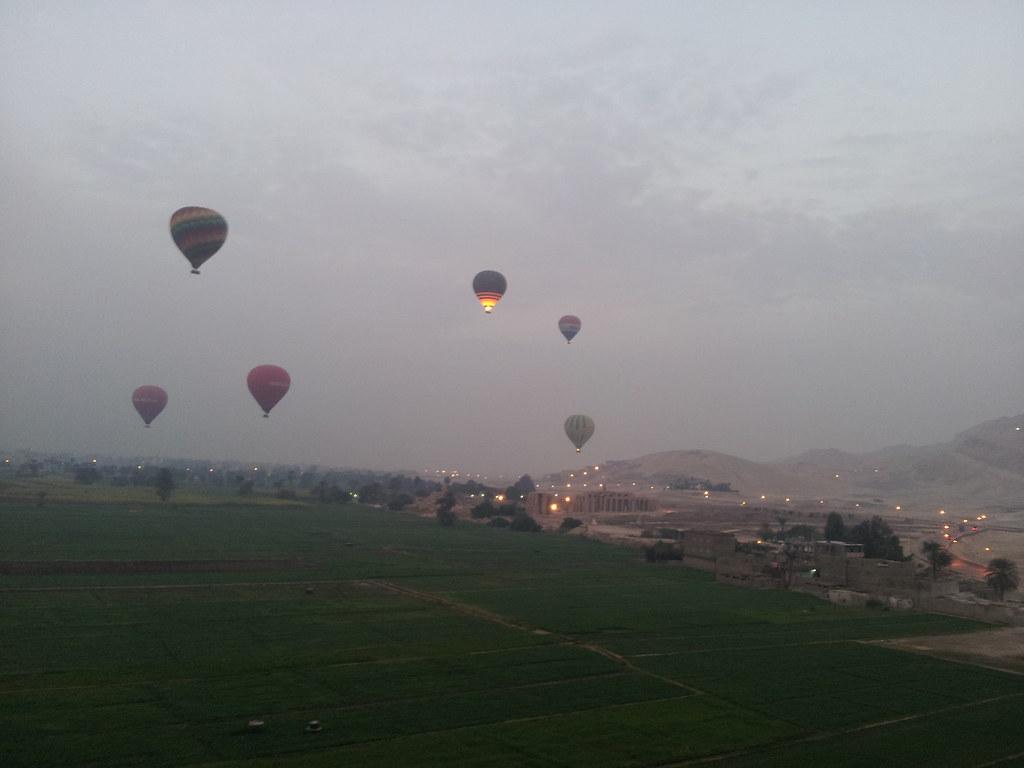 Egipto - Paseo en globo