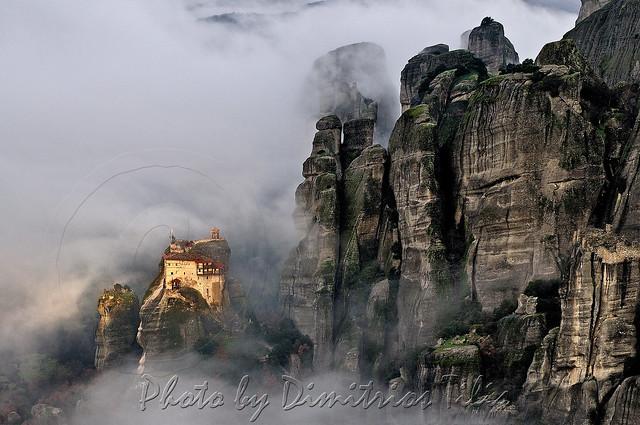 Ιερά Μονή Αγίου Νικολάου Αναπαυσά Μετέωρα Ηoly Monastery Saint Nikolaos Meteora
