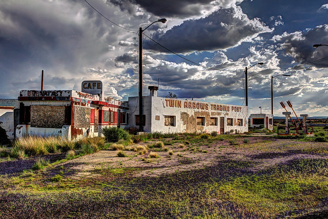 Epic HDR of Twin Arrows, Arizona on Route 66