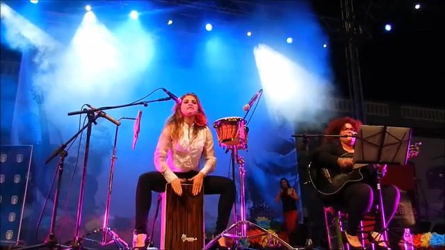 Angie Santana y Laura Márquez Flamenco fusión 3 VIII Feria Abril Las Palmas de Gran Canaria