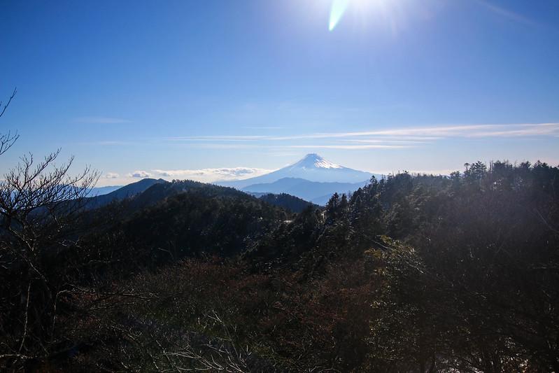 小金沢山の山頂