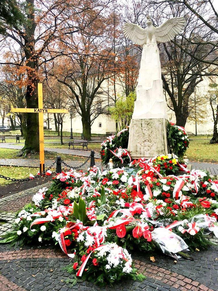 Pomnik Odrodzenia Polski, Wieliczka