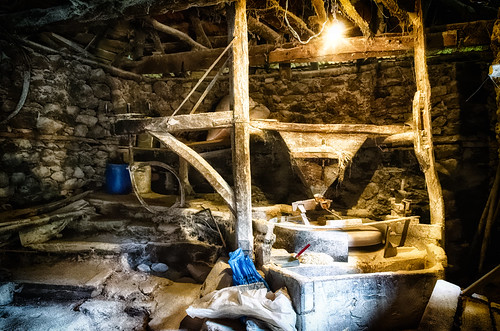 Lightplay In The Old Watermill