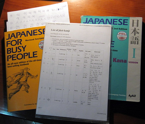 30 April 2012 · studying a little Japanese at home | by tripu