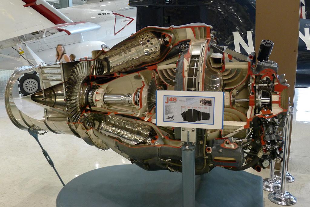 J48 Turbo Jet Engine   Steffen Kahl   Flickr