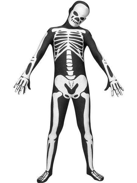 d42ae9435b5207 Schwarz-Weiß-Skelett Spandex Body Zentai Kostüm | Morphsuits… | Flickr