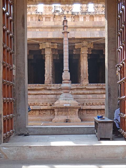Le temple d'Airavateshwara (Darasuram, Inde)