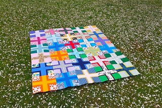 Siblings Together quilt top finished