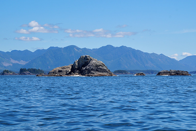 Bunsby Islands, Big Bunsby Marine Park, Vancouver Island, British Columbia. Photo: Santa Brussouw.