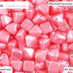 PRECIOSA Pyramids - 111 01 336 - 02010/25007 - Strawbery Pink