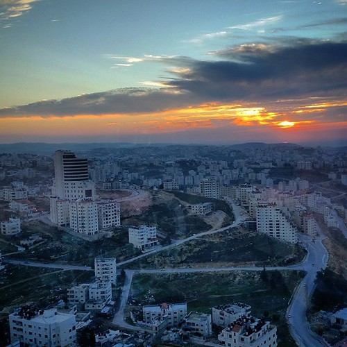 sunset mountains west square view palestine ramallah scenic bank squareformat occupation فلسطين instagramapp uploaded:by=instagram