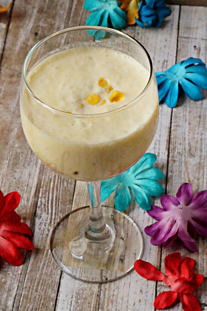 Coconut Corn Smoothie -edit