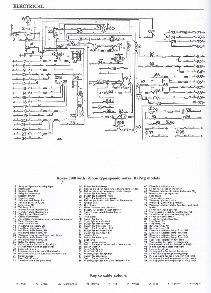 [FPWZ_2684]  Rover_wiring | Scanned wiring diagram for series 1 Rover 350… | Flickr | Rover 220 Wiring Diagram |  | Flickr