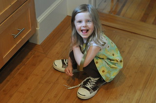 Esme's big shoes | by Andrew Sinclair