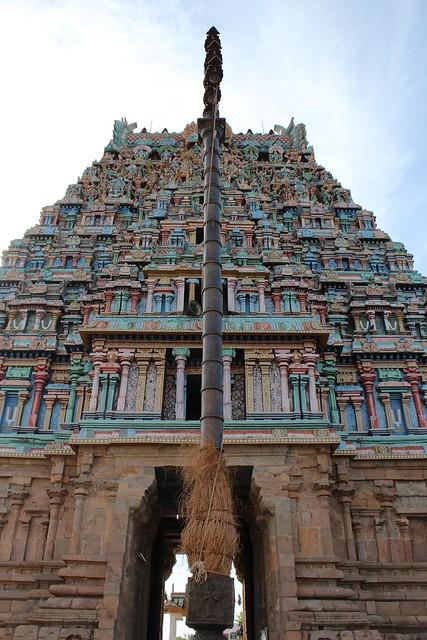 Main Rajagopuram - from inside