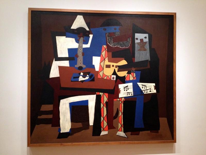 Pablo Picasso - Three Musicians (1921)