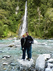 Us at Thunder Creek Falls