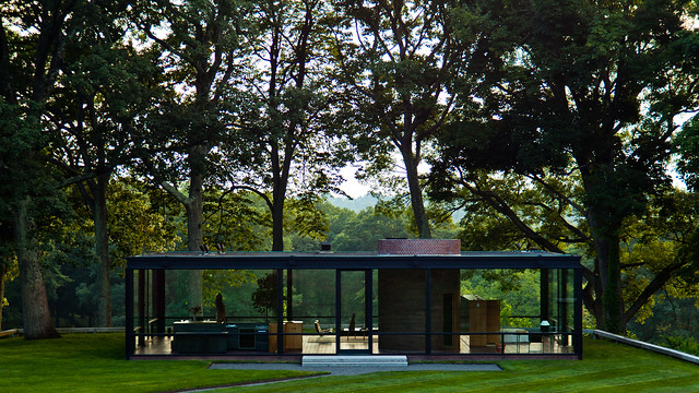 new canaan - glass house 1