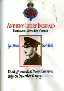 Inchbald, Anthony Ilbert (1923-1943)   by sherborneschoolarchives