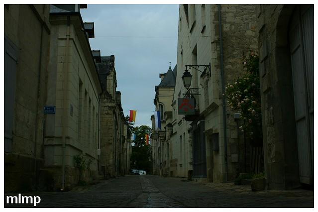 Le rue Haute-Saint-Maurice à chinon