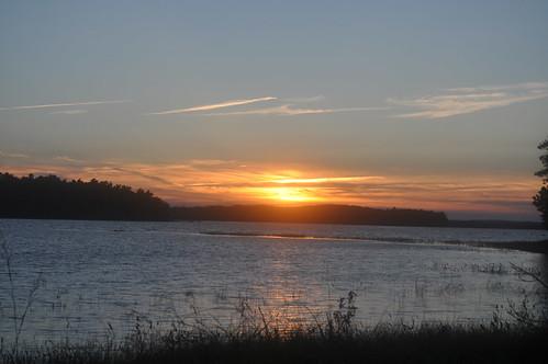 sunset lake novascotia kejimkujiknationalpark