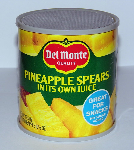 "Vintage Del Monte Can Novelty AM Radio, ""Pineapple Spears in Its Own Juice"", Made in Hong Kong 