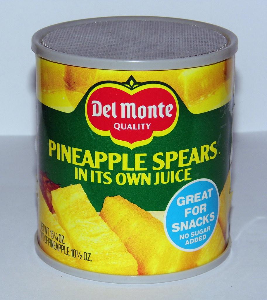 Vintage Del Monte Can Novelty AM Radio,