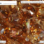 PRECIOSA Fire-Polished Beads - 151 19 001 - 00030/23401