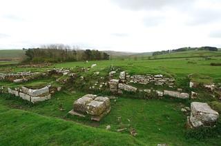 Gate, Aesica Roman Fort
