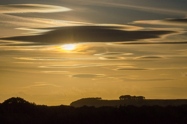 Lenticular Clouds over the Pennines.
