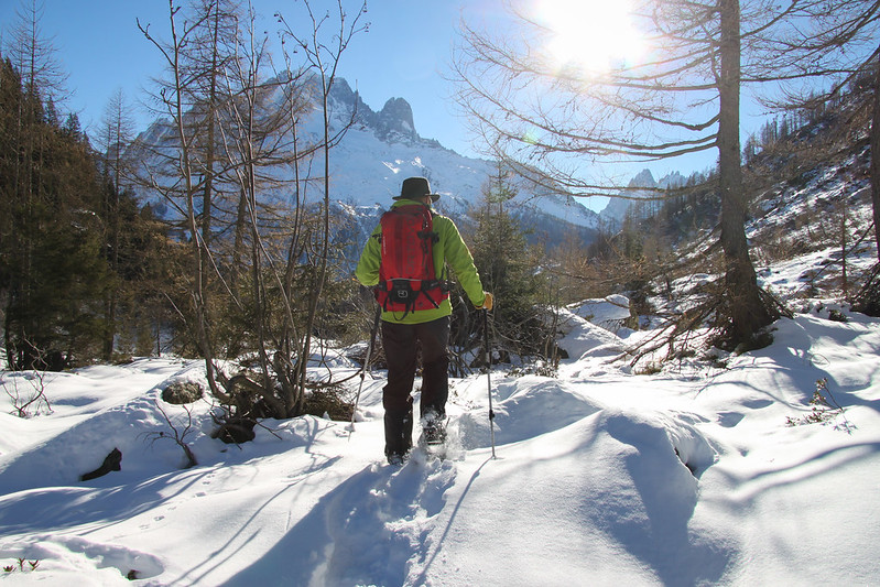Competition Entry – Snowshoe Leader, Chamonix Valley