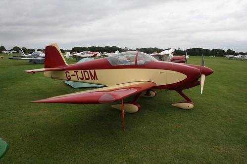 G-TJDM Vans RV-6A [PFA 181A-13370] Sywell