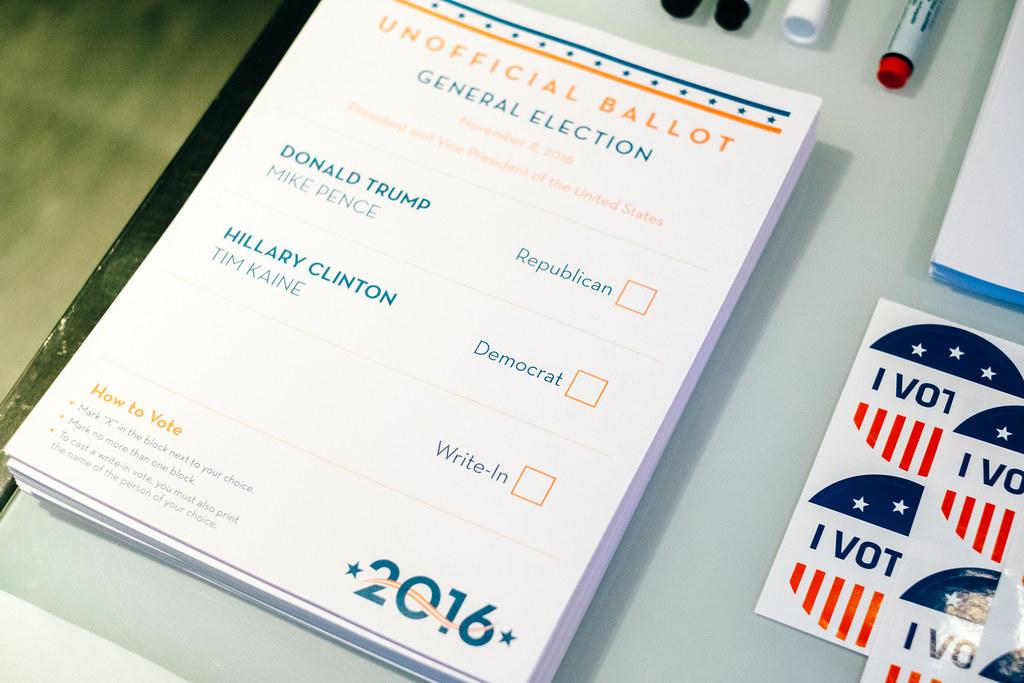 2016 U.S. presidential election party, Riga, Latvia