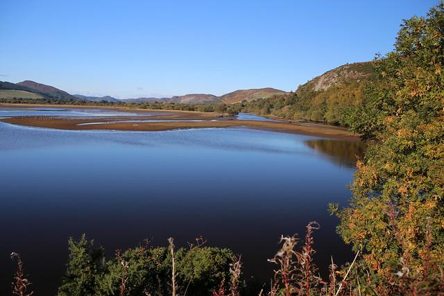The Alders and River Fleet, Loch Fleet