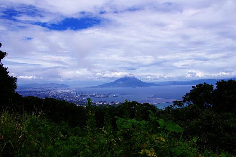 Sakurajima in eruption