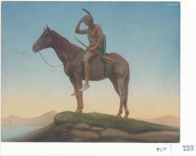 RD3738 Samuel Schiff Co. N.Y. - American Indian Scout 9x7