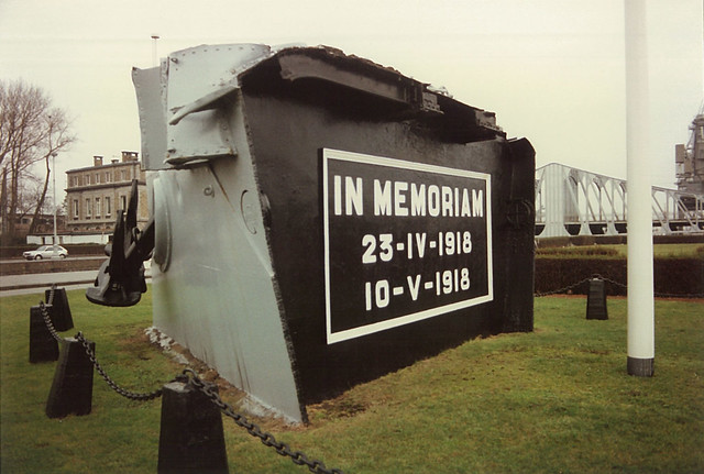 HMS Vindictive Memorial, Ostend 05-03-91