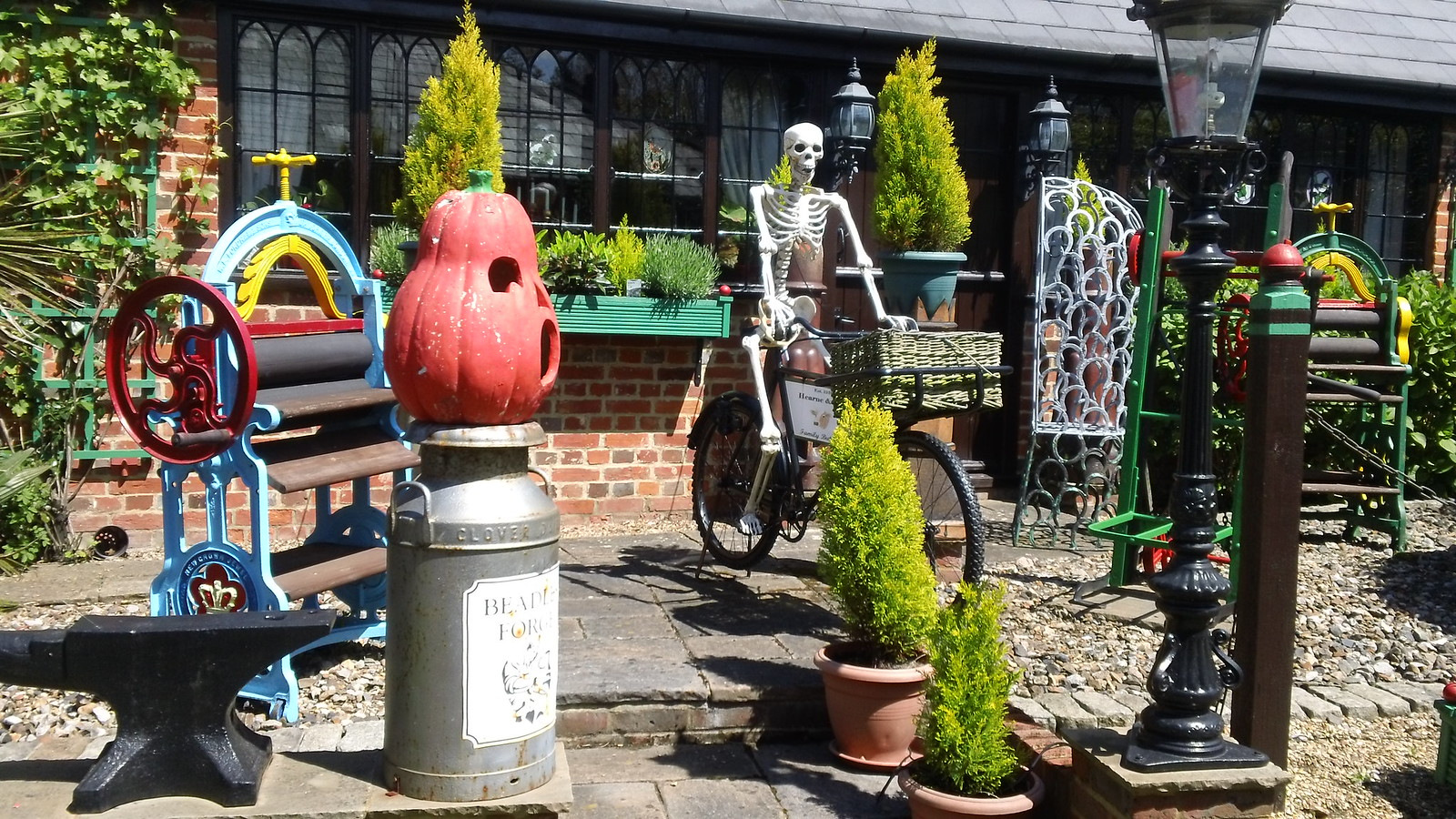 Halloween in Kent seems to go on forever