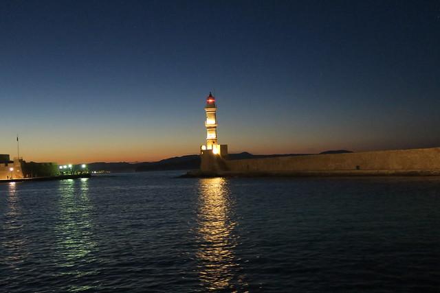 Chania Lighthouse.