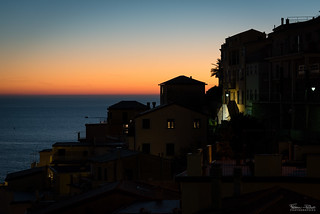 After sunset in Cinque Terre | by Frédéric Pactat