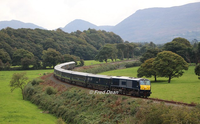 Irish Rail 216 at Yellow Quarry.